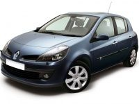 Текстильные коврики Renault Clio III 2005 - 2009