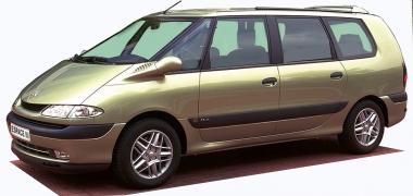 Текстильные коврики Renault Espace III 1997-2003