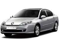 Текстильные коврики Renault Laguna III 2007 - наст. время