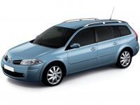 Коврики из экокожи 3D  Renault Megane II (универсал) 2003 - 2008