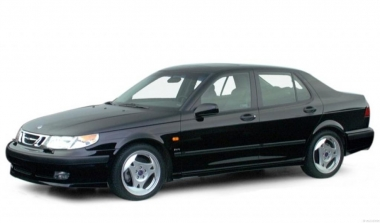 Коврики из экокожи 3D  Saab 9-5 I 1997-2010