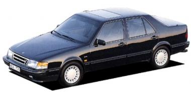 Коврики из экокожи 3D  Saab 9000 1989 - 1998