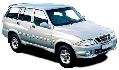 Текстильные коврики Ssang Yong Musso (Daewoo Musso) 1993 - 2006