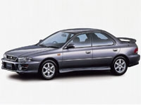 Текстильные коврики Subaru Impreza I 1992 - 2000