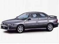 Текстильные коврики Subaru Impreza I 1992 - 2000 (правый руль)