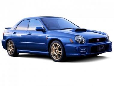 Текстильные коврики Subaru Impreza II (правый руль) 2000 - 2007