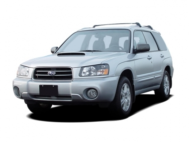 Текстильные коврики Subaru Forester III (правый руль) 2008 - 2013
