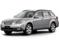 Коврики из экокожи 3D  Subaru Outback IV 2009 - 2014