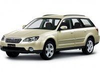 Текстильные коврики Subaru Outback III (правый руль) 2003 - 2009