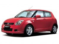 Коврики Eva Suzuki Swift III 2004 - 2011
