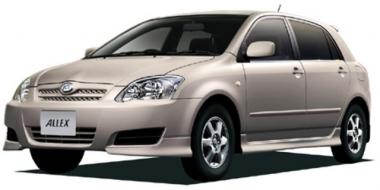 Коврики EVA Toyota Allex 2001 - 2006