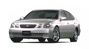 Коврики Eva Toyota Aristo II (правый руль) 1997 - 2004