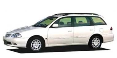 Коврики EVA Toyota Caldina II (правый руль) 1997 - 2002
