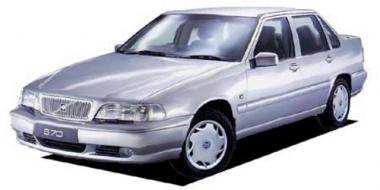 Коврики Eva Volvo S70 / V70 1997 - 2000