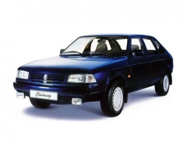 Текстильные коврики Москвич Святогор 1997-2002