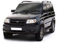 Коврики из экокожи 3D  УАЗ Патриот 2005 - 2014г с нахлестом