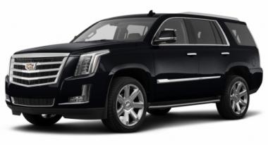 Коврики из экокожи 3D  Cadillac Escalade IV 2014 - наст. время (длинная база)