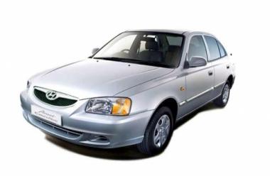 Чехлы на сиденья Hyundai Accent с 99-11г.