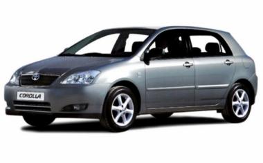 Чехлы на сиденья Toyota Corolla Hb/Wag с 00-07г.