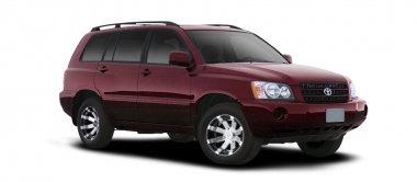 Чехлы на сиденья Toyota Highlander I (за водительским креслом 40%) с 01-07г.
