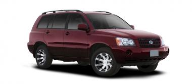 Чехлы на сиденья Toyota Highlander I (за водительским креслом 60%) с 01-07г.