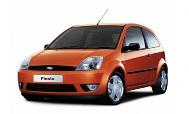 Текстильные коврики Ford Fiesta V (Mk5) 2002 - 2008
