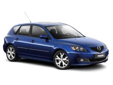 Текстильные коврики Mazda Axela (правый руль) 2003 - 2009 (хэчбек)