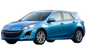Текстильные коврики Mazda Axela (правый руль) 2009 - 2013 (хэчбек)