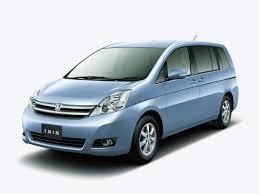 Текстильные коврики Toyota Isis I поколение (XM10) (правый руль )2007 - наст. время багажник + накладки на спинки сидений