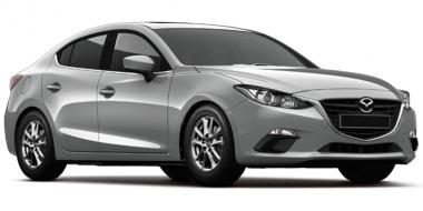 Текстильные коврики Mazda 3 (BM) 2013 - 2019 (седан)