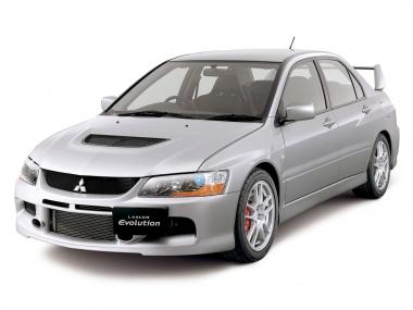 Текстильные коврики Mitsubishi Lancer Evolution IX 2005 - 2008