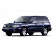 Текстильные коврики Subaru Forester I 1997 - 2002 (правый руль)