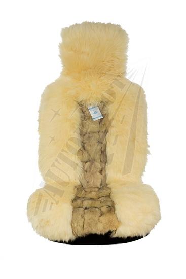 Накидки из меха дорогих пород (лиса, волк, енот, норка, выдра, кролик) Накидки из меха лисы и овчины на сиденья автомобиля