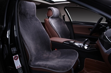 Накидки из шерсти на сиденья автомобиля Накидки из искусственной шерсти на сиденья автомобиля Короткий ворс