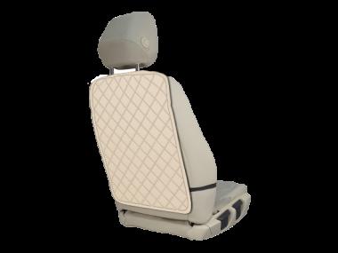 Накидки на спинку сидения Защитная накидка на спинку сиденья автомобиля из экокожи