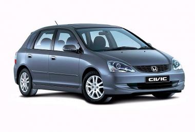 Коврики Eva Honda Civic VII (хетчбек) 2001 - 2006