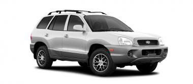 Коврики Eva Hyundai Santa Fe I 2000 - 2012