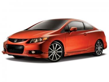 Текстильные коврики Honda Civic VIII (купе) 2005 - 2011