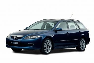 Текстильные коврики Mazda 6 (GY) Wagon 4WD 2002 - 2008