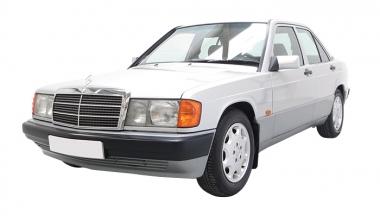 Текстильные коврики Mercedes 190 W201 1982-1993