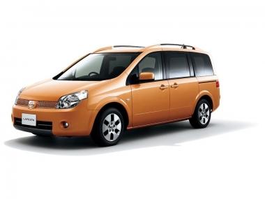 Текстильные коврики Nissan Lafesta I 2004-2012 (правый руль)