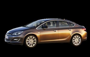 Текстильные коврики Opel Astra J (седан) 2010 - наст. время