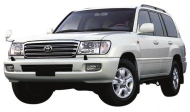 Текстильные коврики Toyota Land Cruiser 100 1998 - 2007 (правый руль)
