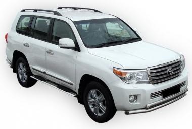 Текстильные коврики Toyota Land Cruiser 200 2007 - 2012  (5 мест)