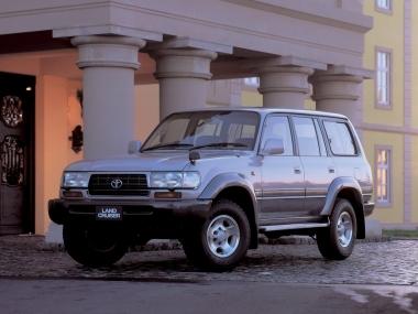 Текстильные коврики Toyota Land Cruiser 80 1989 - 1997