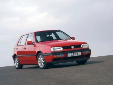 Текстильные коврики Volkswagen Golf III/Vento 1991 - 1999