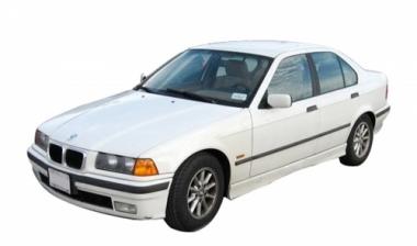 Коврики из экокожи 3D  BMW 3 (Е36) 1991 - 1998 (седан)