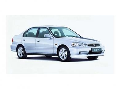 Коврики из экокожи 3D  Honda Civic VI (седан) 1995 - 2002
