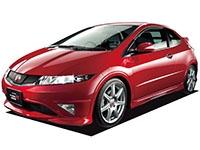 Коврики из экокожи 3D  Honda Civic VIII (хетчбек 3D) 2005 - 2011