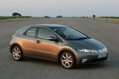 Коврики из экокожи 3D  Honda Civic VIII (хетчбек) 2005 - 2011